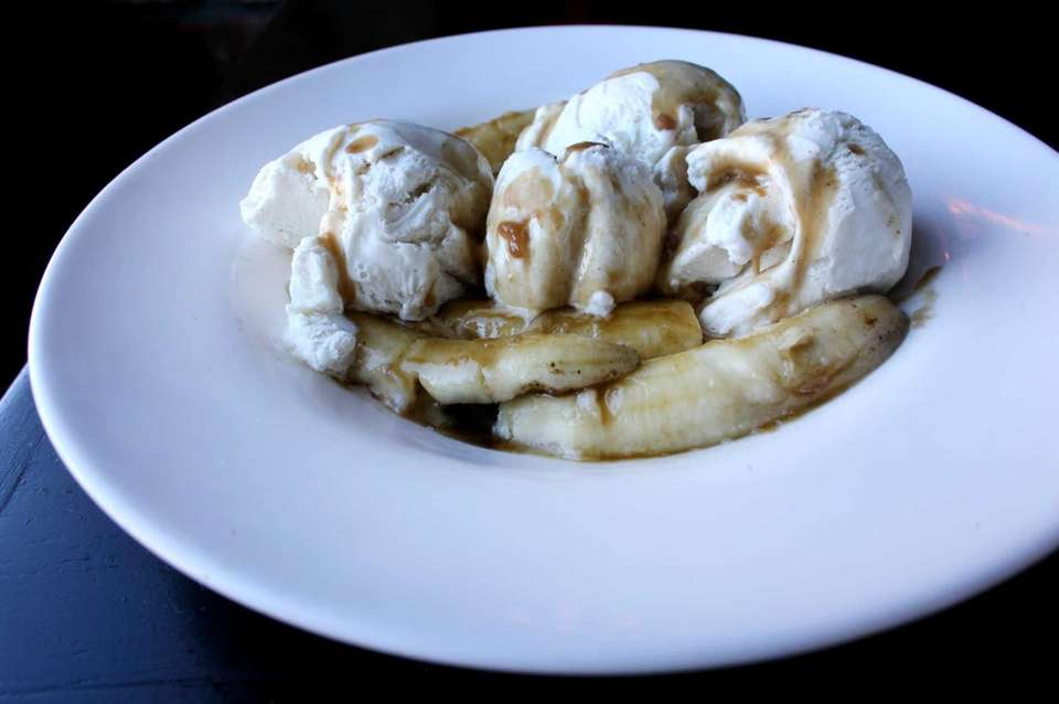 Bananas Foster is a favorite at Storyville restaurant