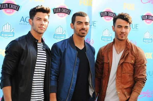 The Jonas Brothers -- from left, Nick, Joe