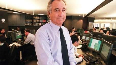 Bernard Madoff, who is now serving out the