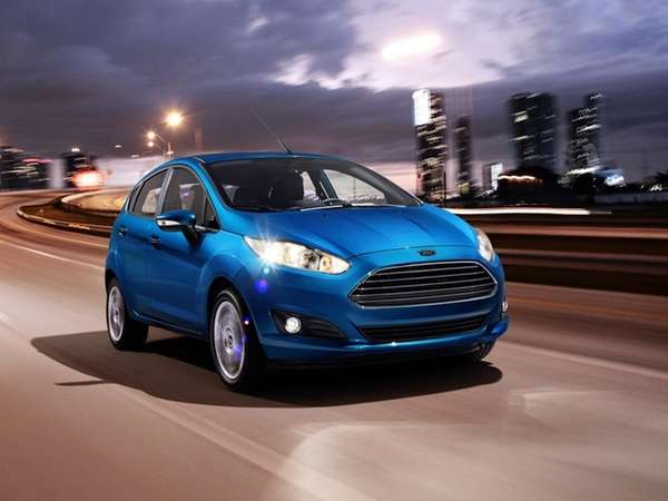 Fiesta ST prices start at $21,400. It's only
