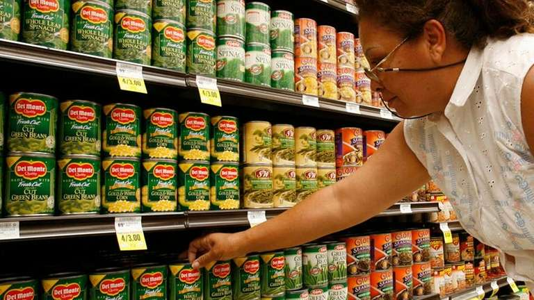 Deciphering date codes on canned goods | Newsday