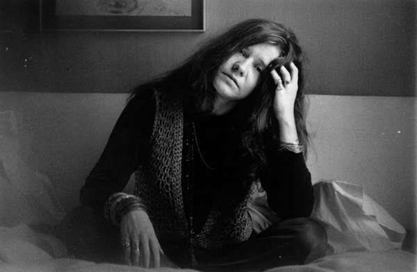 Janis Joplin on April 5, 1969.