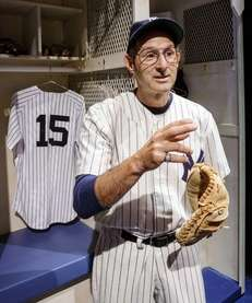 Richard Topol as Yogi Berra in the Primary