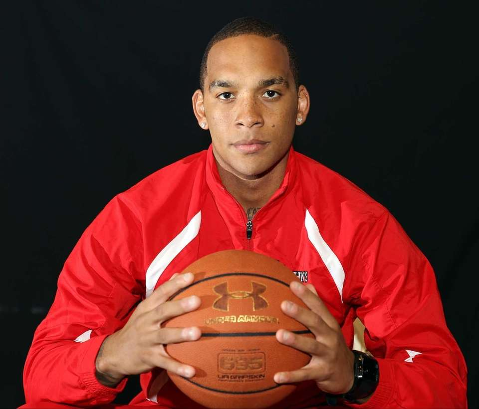 D'Angelo Harrison poses for a portrait at the