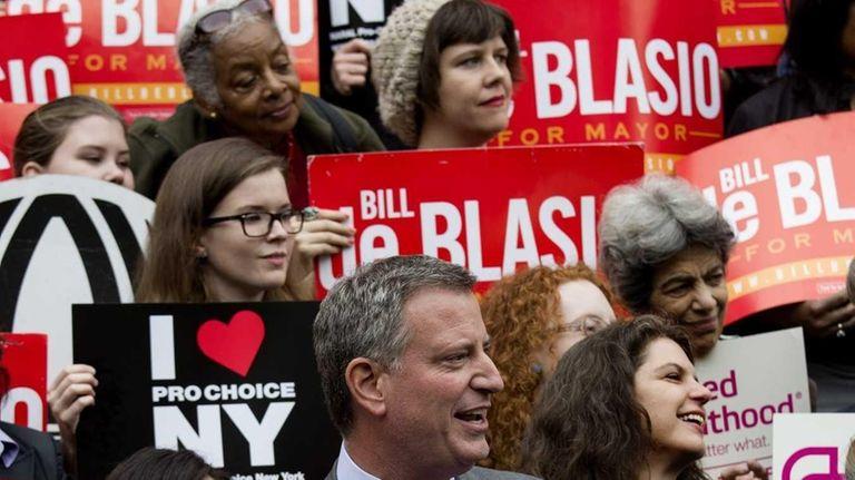 Democratic nominee for New York City mayor Bill