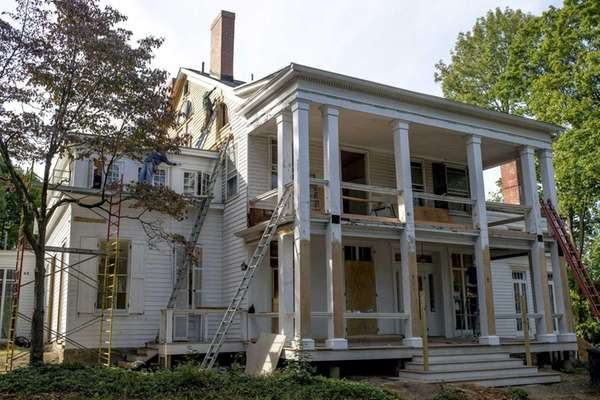 The Trousdell House was initially planned to be