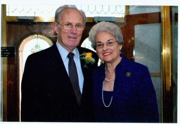 Annette and John Sullivan of Elmont celebrated their