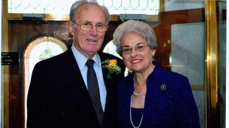 Annette and John Sullivan of Elmont celebrated their