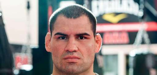 UFC heavyweight champion Cain Velasquez poses for a