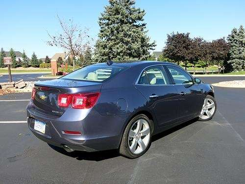 The 2014 Chevrolet Malibu is a more competitive