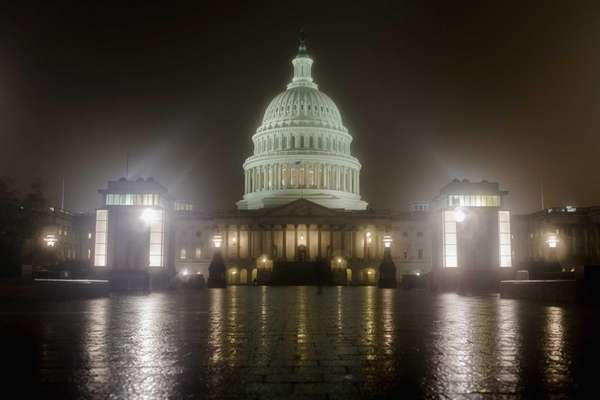 The U.S. Capitol Building in Washington, DC. (Oct.