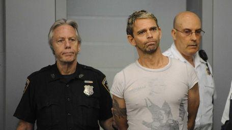 Brett C. Knight, 45, escorted into the Sixth