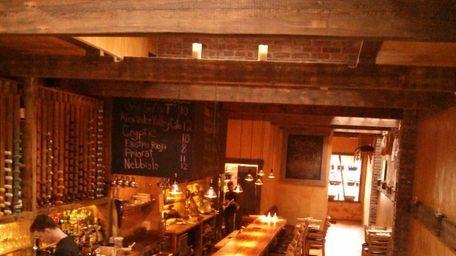 Plancha Tapas & Wine Bar is the Garden