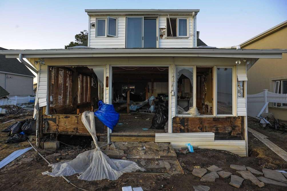 Superstorm Sandy destroyed this home at the end