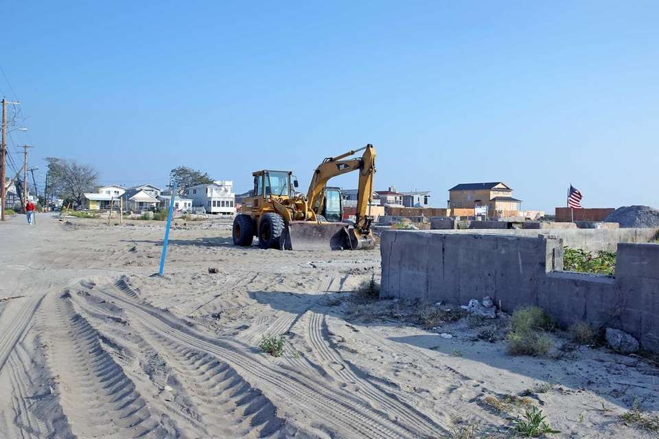 Gotham Walk, Breezy Point about a year after