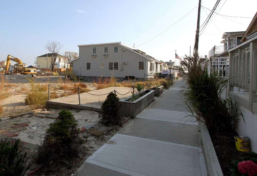 Jamaica Walk, Breezy Point, about a year after