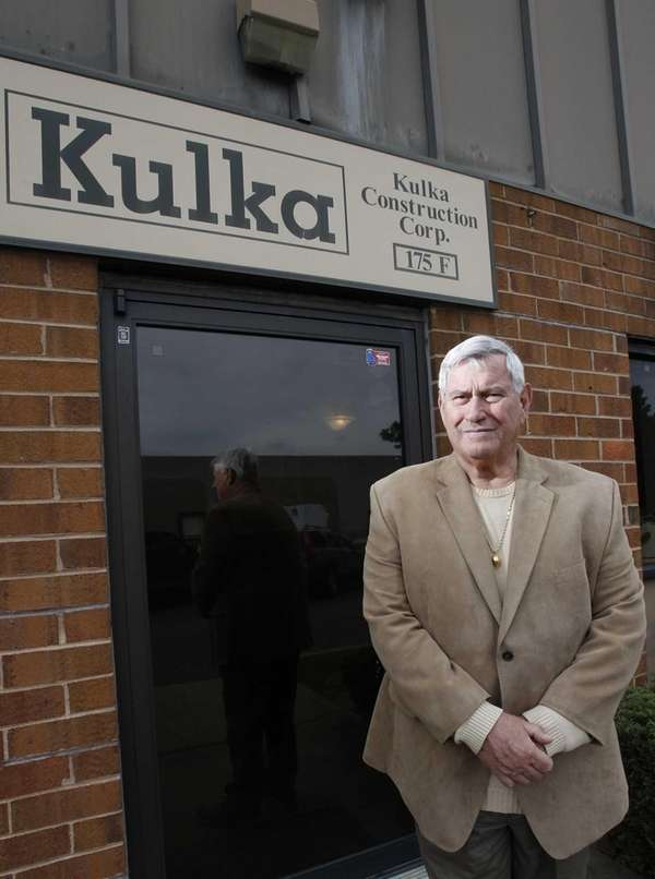 Jack Kulka, owner of Kulka construction, original founders