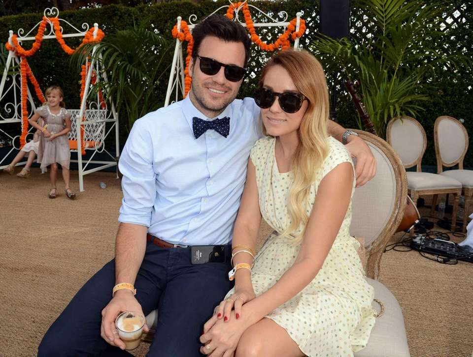 Lauren Conrad and William Tell tied the knot
