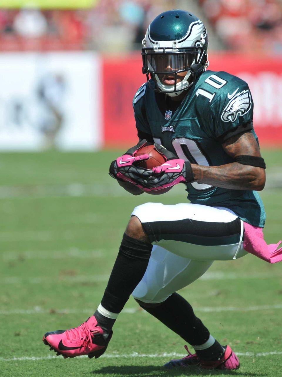 Wide receiver DeSean Jackson of the Philadelphia Eagles