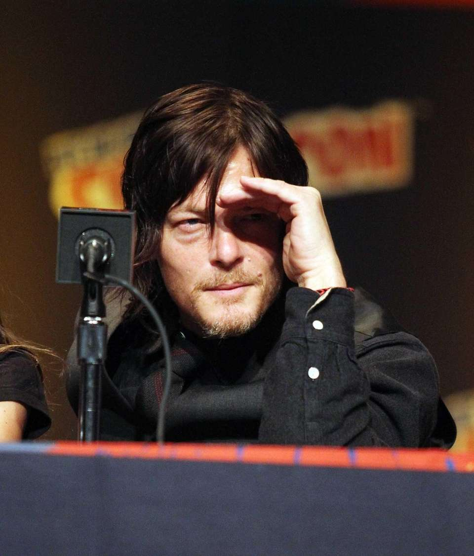 Actor Norman Reedus attends