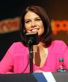 "Actress Lauren Cohan attends ""The Walking Dead"" Panel"