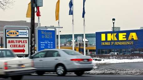 Ikea at Broadway Mall in Hicksville. The world's