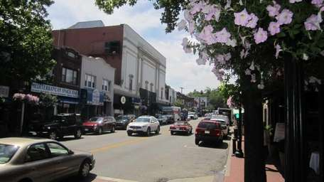 A June 29, 2011, photo of downtown Huntington.