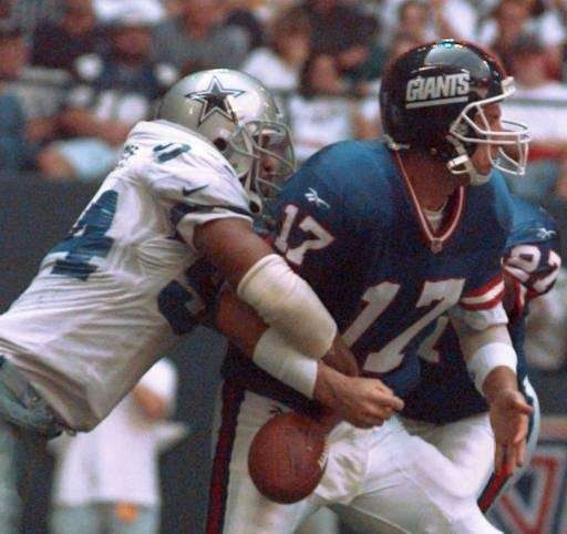 1996 RECORD: 6-10 The Giants lost three games