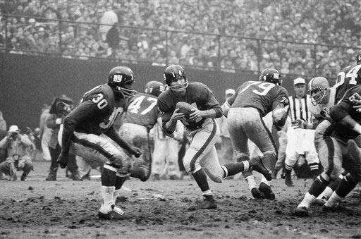 1964 RECORD: 2-10-2 The Giants started the season
