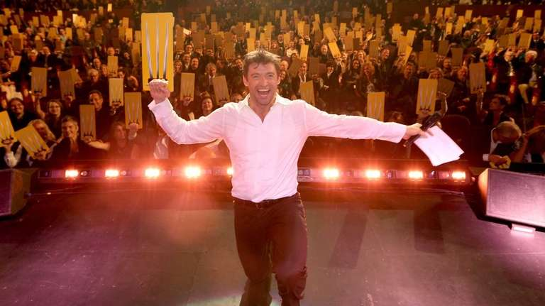 Hugh Jackman performs onstage during