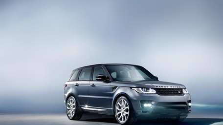 The 2014 Land Rover Ranger Rover Sport is