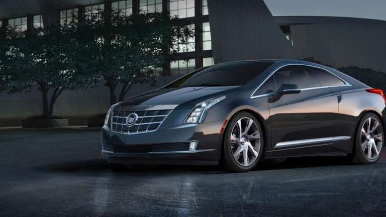 The 2014 Cadillac ELR plug-in coupe is set