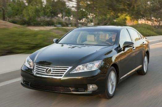 When a car, such as the 2010 Lexus