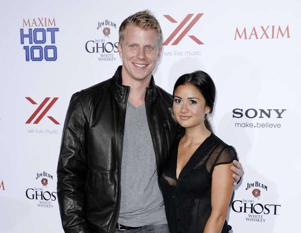 "Sean Lowe and Catherine Giudici from ""The Bachelor"""