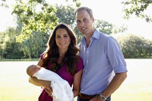 Catherine, Duchess of Cambridge, and Prince William, Duke