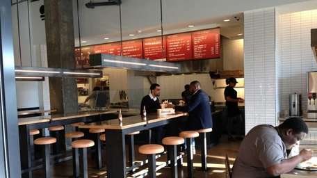 Chipotle Mexican Grill has joined the busy Roosevelt