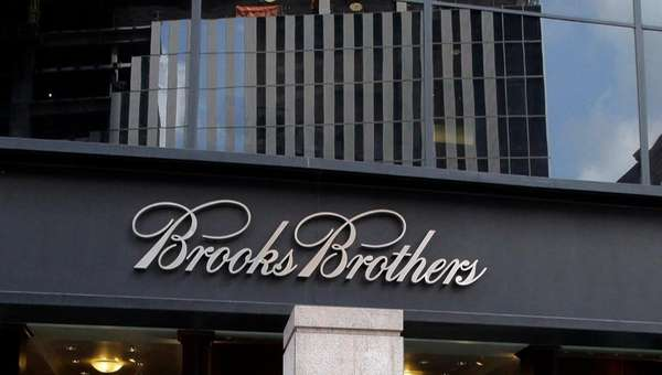 The Brooks Brothers store on Church Street in
