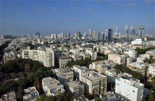 Downtown Tel Aviv, where in 2013 technology seems