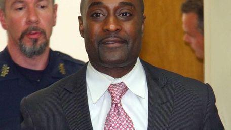 Former Freeport middle school principal John O'Mard, who