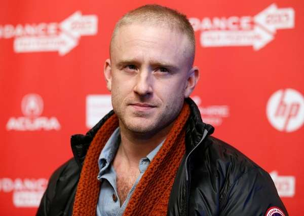 Ben Foster at the Sundance Film Festival premiere
