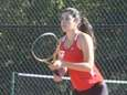 Half Hollow Hills East's Ester Chikvashvili plays her