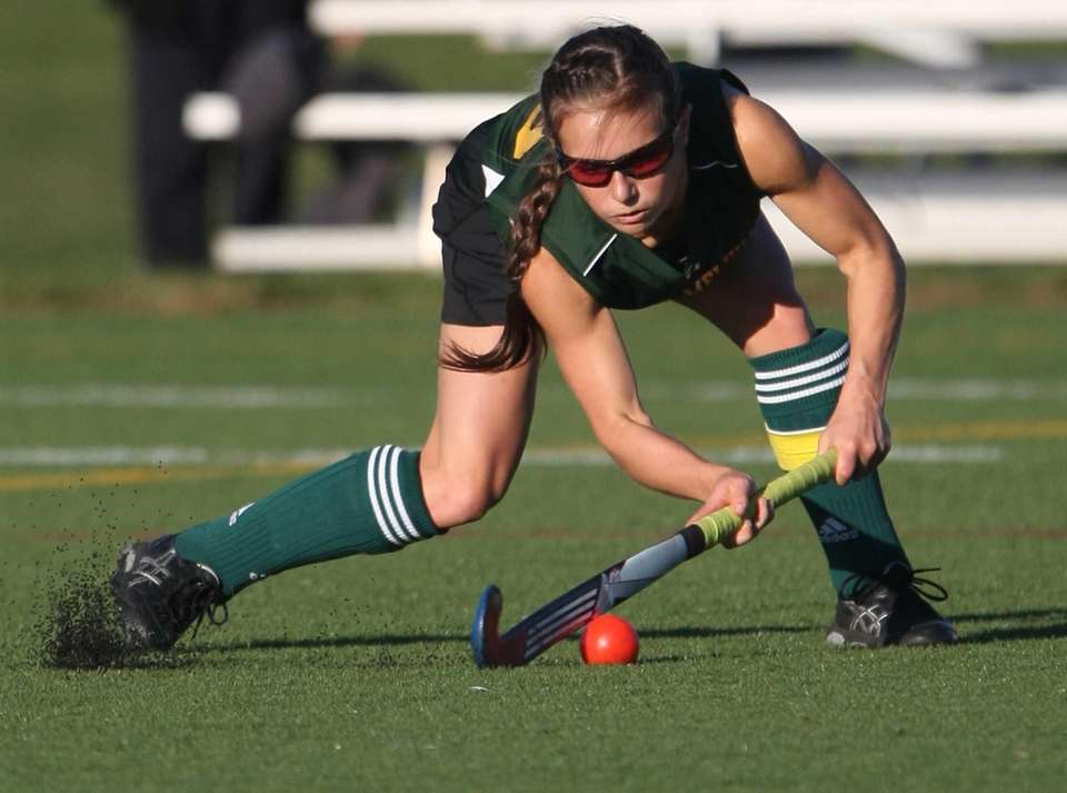 Ward Melville's Mary Brigid Coughlan lets one fly