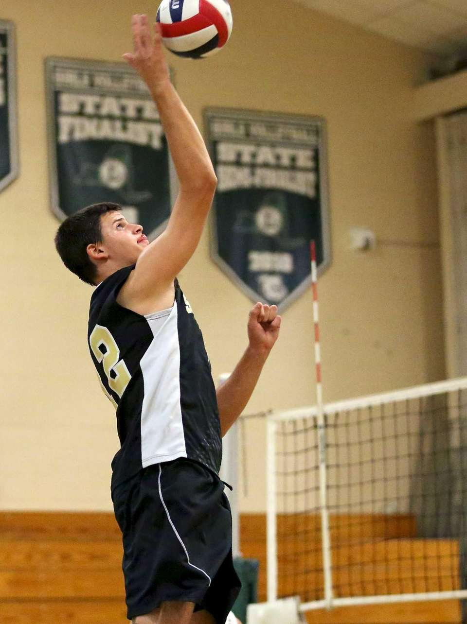 Sachem North's Dylan Missry gets the kill shot