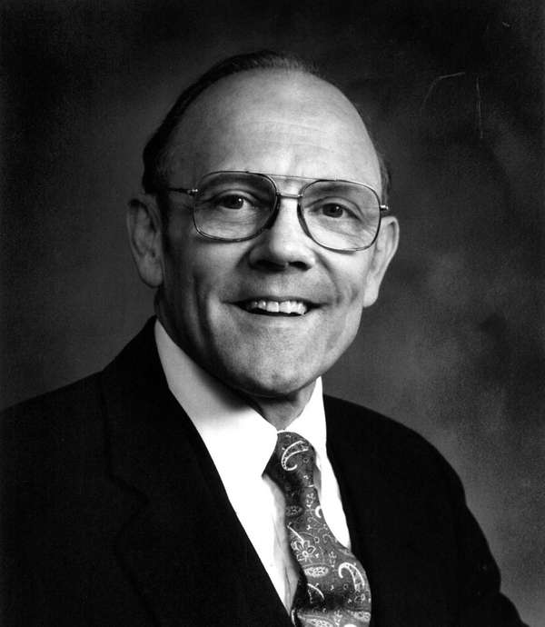 Former Farmingdale Mayor Willis B. Carman Jr., a