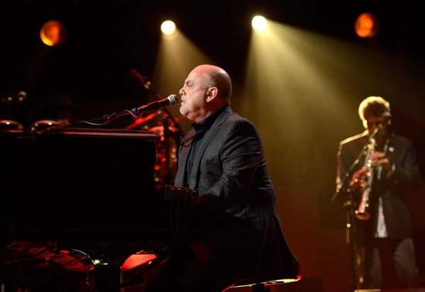"Billy Joel performs at ""12-12-12"" a concert benefiting"