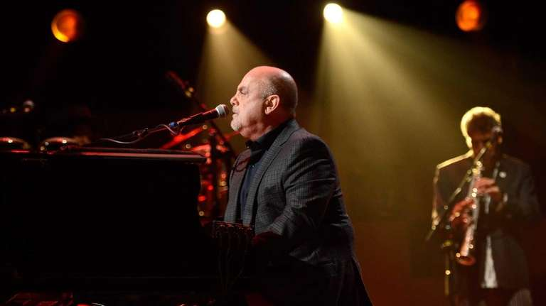 Billy Joel performs at
