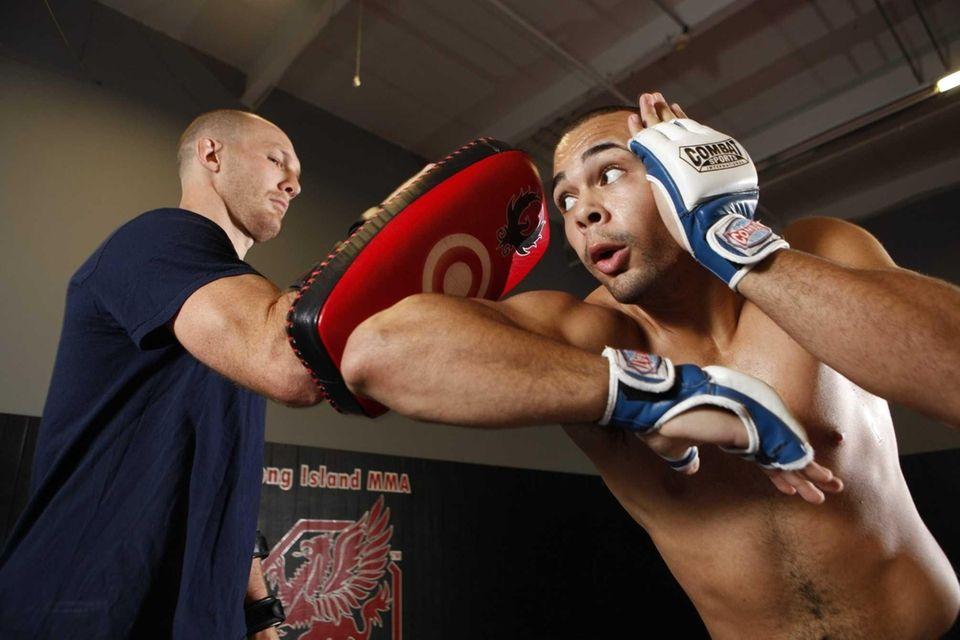 Mixed martial arts amateur fighter Ricardo Pigatti Jr.
