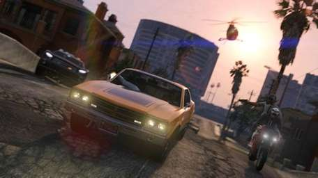 This screenshot shows play during the Grand Theft