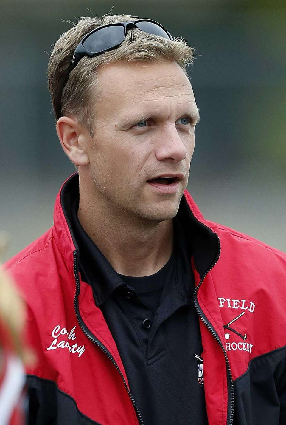 Newfield field hockey head coach Marty Laverty. (Oct.