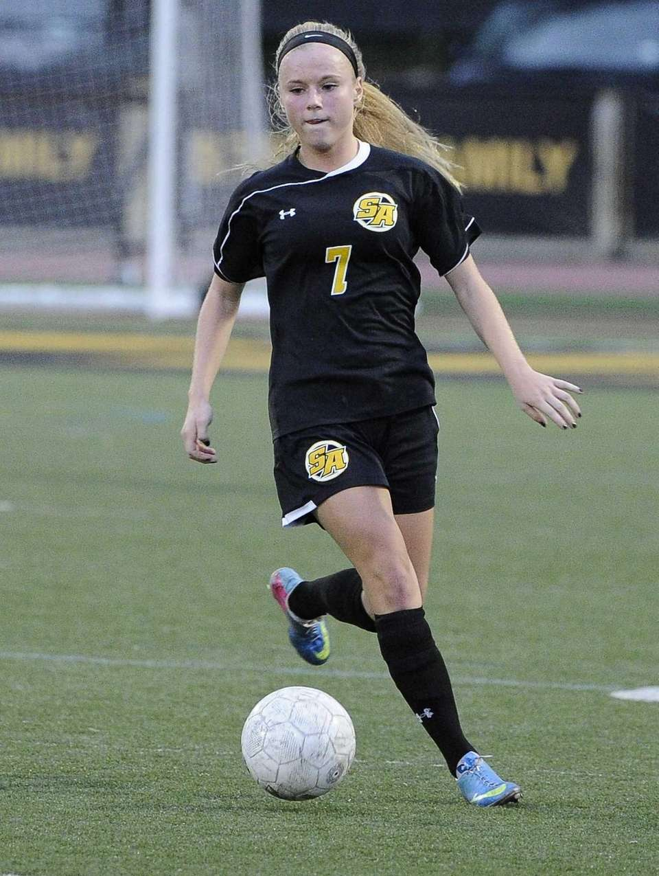 St. Anthony's MacKenzie Kober controls the ball against